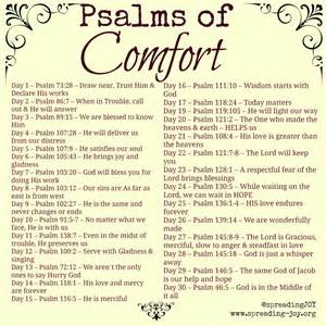 hebrew word for comfort my daily bread psalms of comfort joy lord is gracious