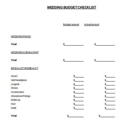 Wedding Budget Template Pdf by 20 Free Wedding Budget Templates Excel Pdf