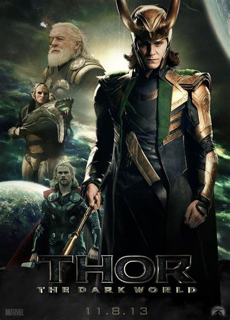thor movie fanfiction thor the dark world loki poster by toheavenorhell on