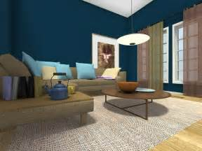 Living Room Wall Color living room ideas living room with dark blue wall color and corner
