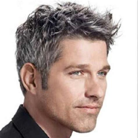 Mens Grey Hairstyles by 40 Haircuts For Mens Hairstyles 2018