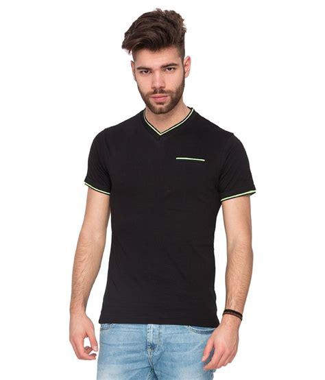 Black V Neck Shirt Sml mufti black v neck t shirt buy mufti black v neck t shirt at low price snapdeal