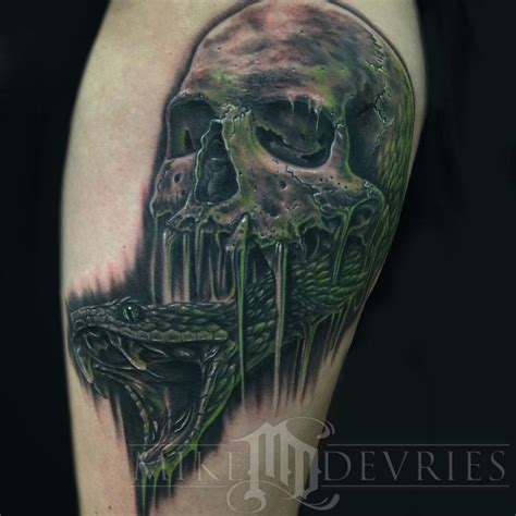 the dark mark tattoo the by mike devries tattoos