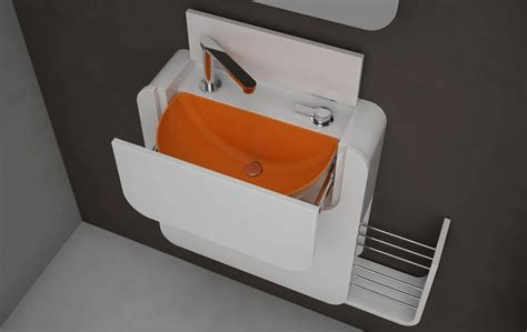 Compact Bathroom Furniture For Micro Home Spaces Pixel Compact Bathroom Furniture