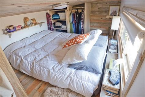 tiny house bed ideas tiny house for two family members home interior design