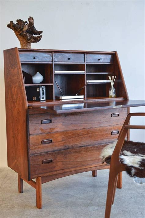 secretarys desk rosewood desk by bernhard pedersen and sons
