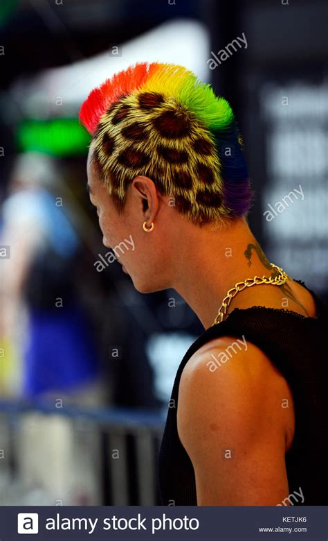 Mohican Hairstyle by Mohican Hairstyle Stock Photos Mohican Hairstyle Stock