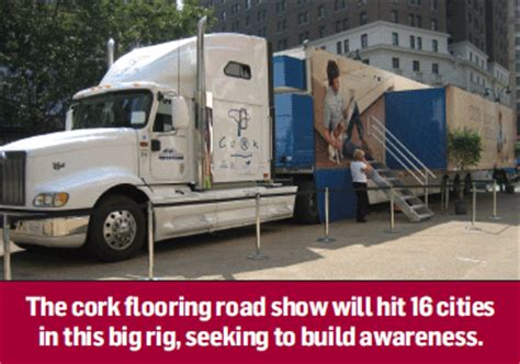 Flooring News: APCOR launches cork mobile showroom