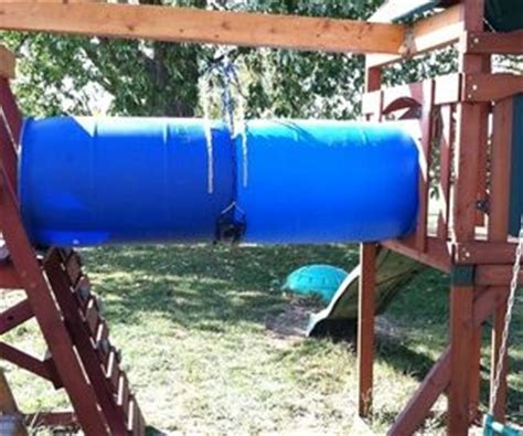 drums swing low cheap diy childs playset tube tunnel