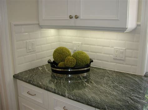 installing subway tile backsplash in kitchen how to install bevel edge tile beveled tile beveled