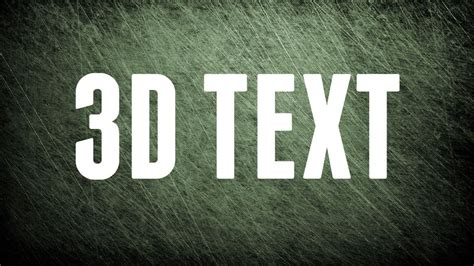 how to create an editable 3d text effect in adobe illustrator how to create an editable 3d text effect in photoshop
