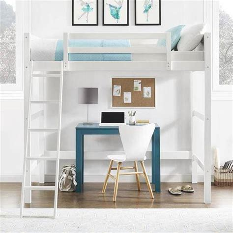 walmart loft bed with desk white walmart your zone zzz collection loft bed multiple