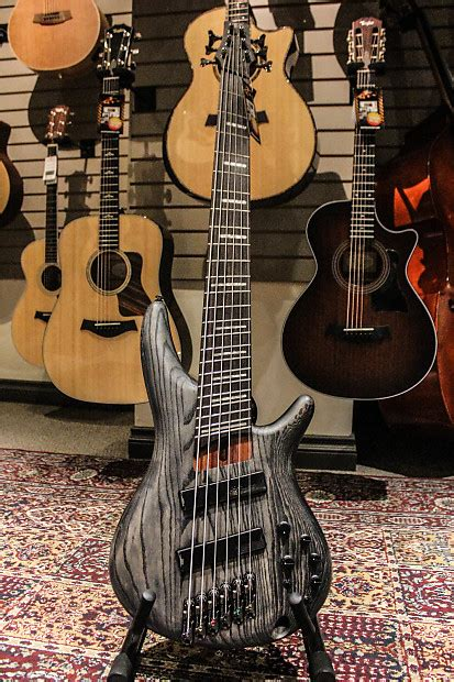 ibanez fanned fret bass 6 string ibanez srff806 fanned fret 6 string bass guitar reverb