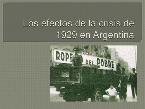 imagenes ironicas de la crisis los efectos de la crisis de 1929 en argentina