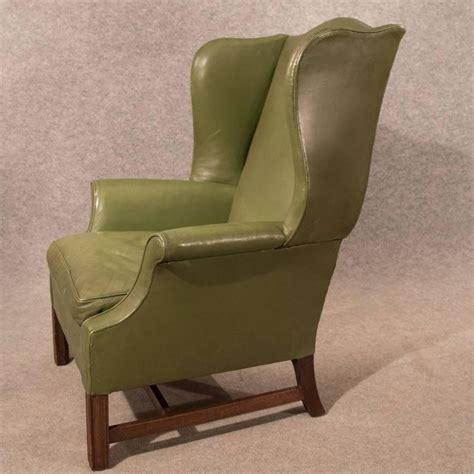 large leather armchair leather armchair large wing gentleman s chair english