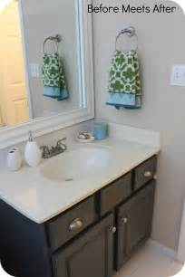 Painting Bathroom Vanity Ideas Painting Bathroom Cabinet 14 Photo Bathroom Designs Ideas