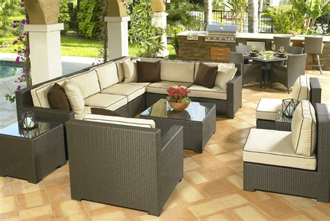 outdoor living room set outdoor rattan furniture set