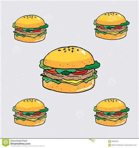 Burger Cartoon Wallpaper   The Best Cart