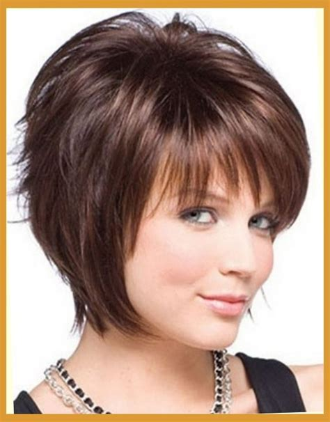 short hairstyles for round face fine hair 25 beautiful short haircuts for round faces ideastand for