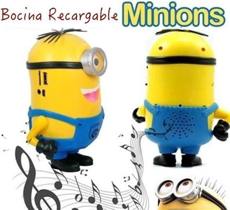 Cp Fm Minions minion recargable radio fm usb micro sd aux con bocina