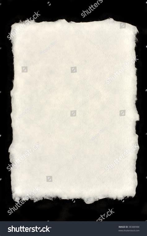 Paper Deckle - deckle edged paper stock photo 38388988