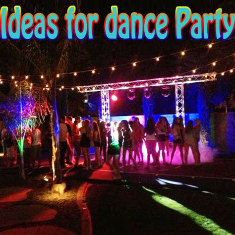 backyard dance party great ideas for outdoor dance parties slide 1 ifairer com
