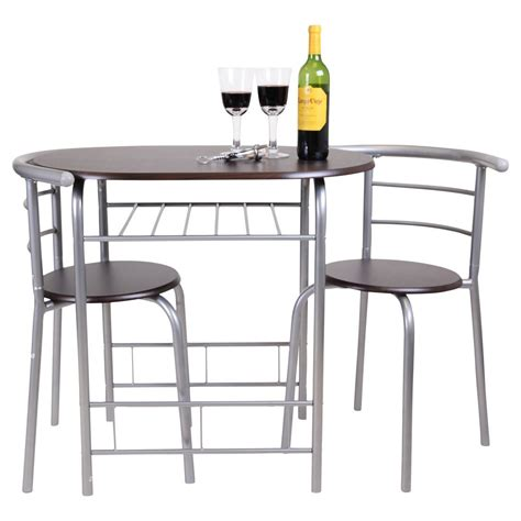 chicago 3 dining table and 2 chair set breakfast