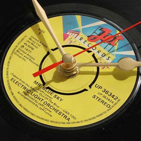electric light orchestra mr blue sky elo mr blue sky vinyl clocks