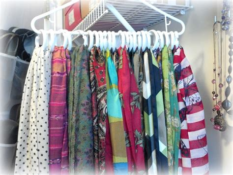 best 25 storing scarves ideas on