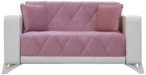 venedik sofa bed in pink fabric by casamode w options