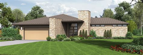 small modern ranch homes modern small two story house plans