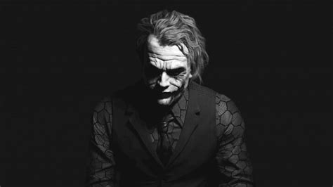 black and white joker wallpaper the joker black white portrait wallpaper tv movies