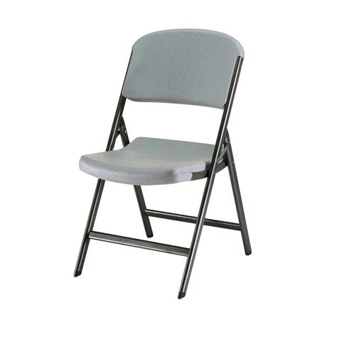 lifetime putty folding chair set     home depot