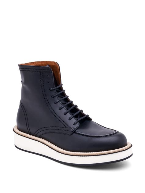 givenchy rottweiler ankle boots givenchy rottweiler philippo leather ankle boots in black for lyst