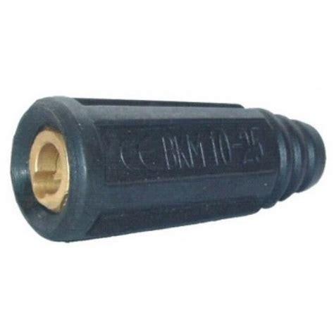 Connector Las Ukuran 35 50 dinse style 35 50 9mm twistlock welding cable