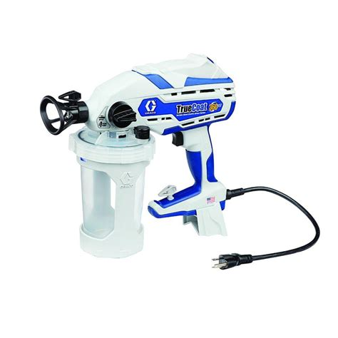 how to use home depot paint sprayer graco truecoat 360vsp airless paint sprayer 17d889 the