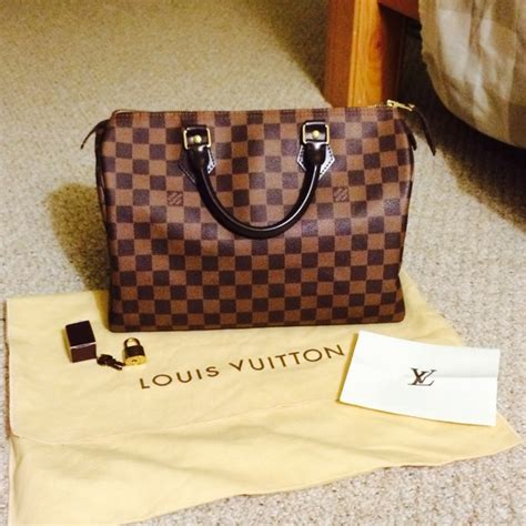 Tas Cantik Lv Ring Damier louis vuitton sold authentic damier ebene lv speedy 30 from cheskajoy s closet on poshmark