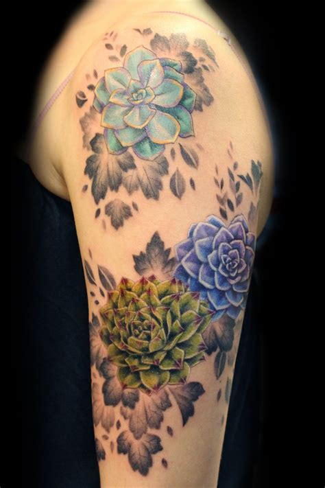 succulent tattoo succulents design search ideas