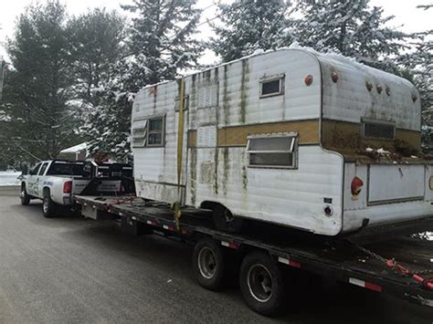 travel trailer removal heavy hauling we remove junk cars boats cers and more