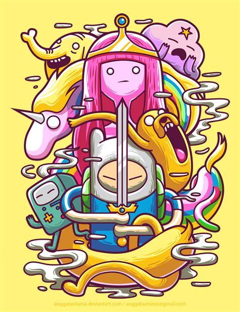 Kaos Adventure Time 3 pra inspirar 20 ilustra 231 245 es de adventure time sala7design