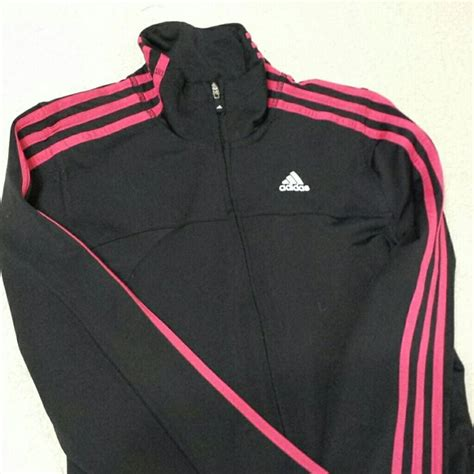 Jaket Adidas Navy Pink By Snf2012 90 adidas outerwear black and pink adidas warm