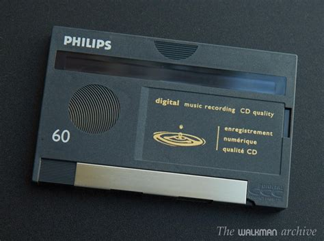 digital cassette phillips dcc cartucho digital compact cassette de 60