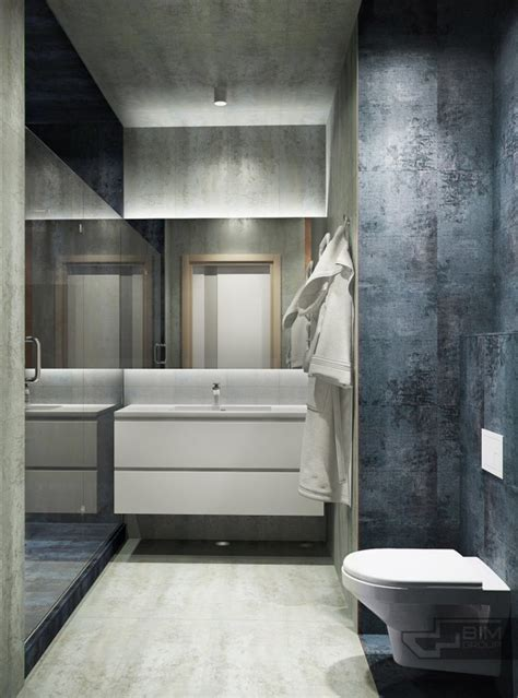 masculine bathroom designs sophisticated kiev home makes creative use of
