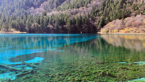 clearest lake in china facts explore china jiuzhaigou and huanglong sichuan province beijing hikers