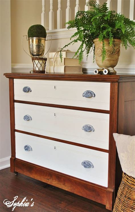 Two Tone Dresser by S Two Toned Dresser And Kitchen Scale Dining Table