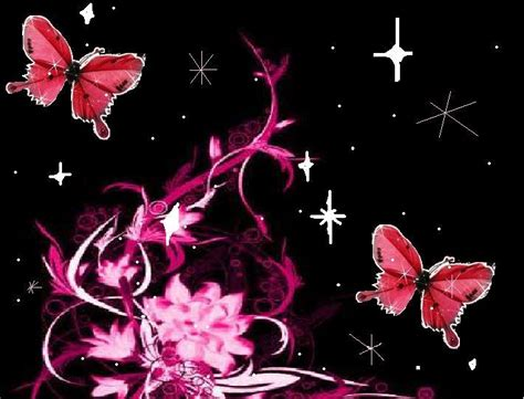 wallpapers of glitter butterflies sparkly butterfly background images