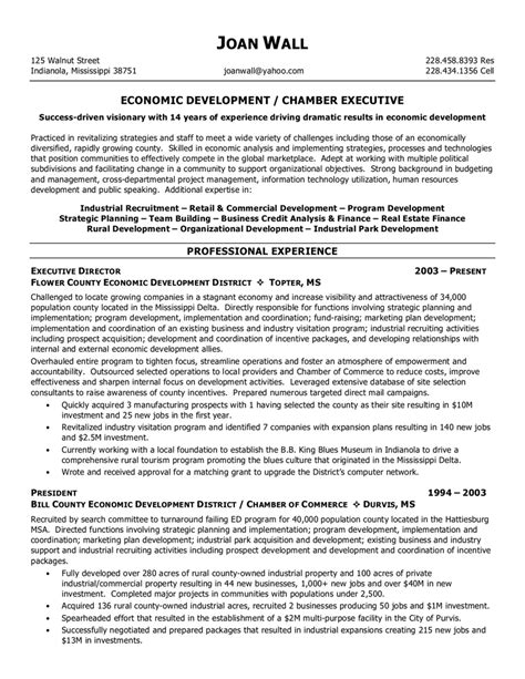 Executive Director Resume Sle by Resume Template Executive Director Best Resume Exles