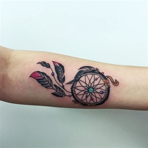 dreamcatcher tattoo inside arm 50 dreamcatcher tattoo designs nenuno creative