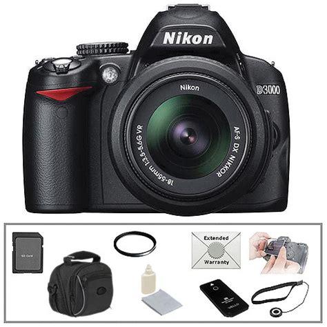 Kamera Canon Dslr D3000 nikon d3000 digital slr w 18 55 vr lens essential
