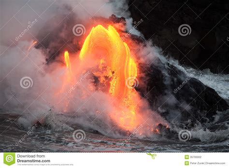 Big Flow 8 Maxy Ori By Lava flowing lava stock photography image 35700002